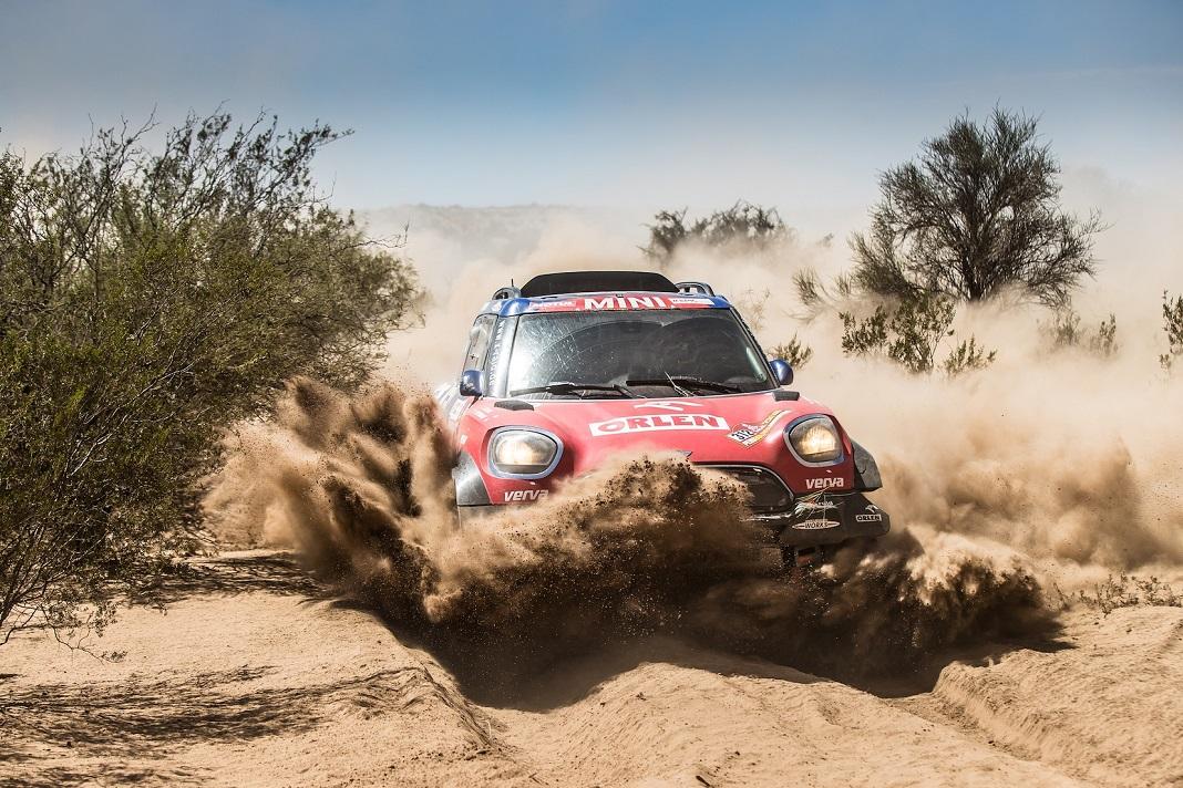 Jakub 'Kuba' Przygonski e Tom Colsoul em quinto lugar no Dakar 2018
