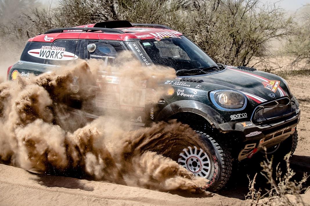 Orlando Terranova e Bernardo Graue em 20º lugar no Dakar 2018