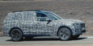 Novo BMW X7 submetido a testes de resistência em condições extremas