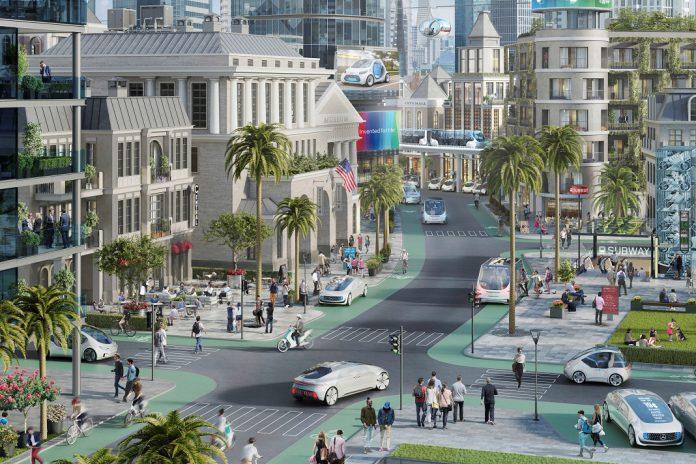 Bosch e Daimler testam condução autónoma em Metropolis na Califórnia