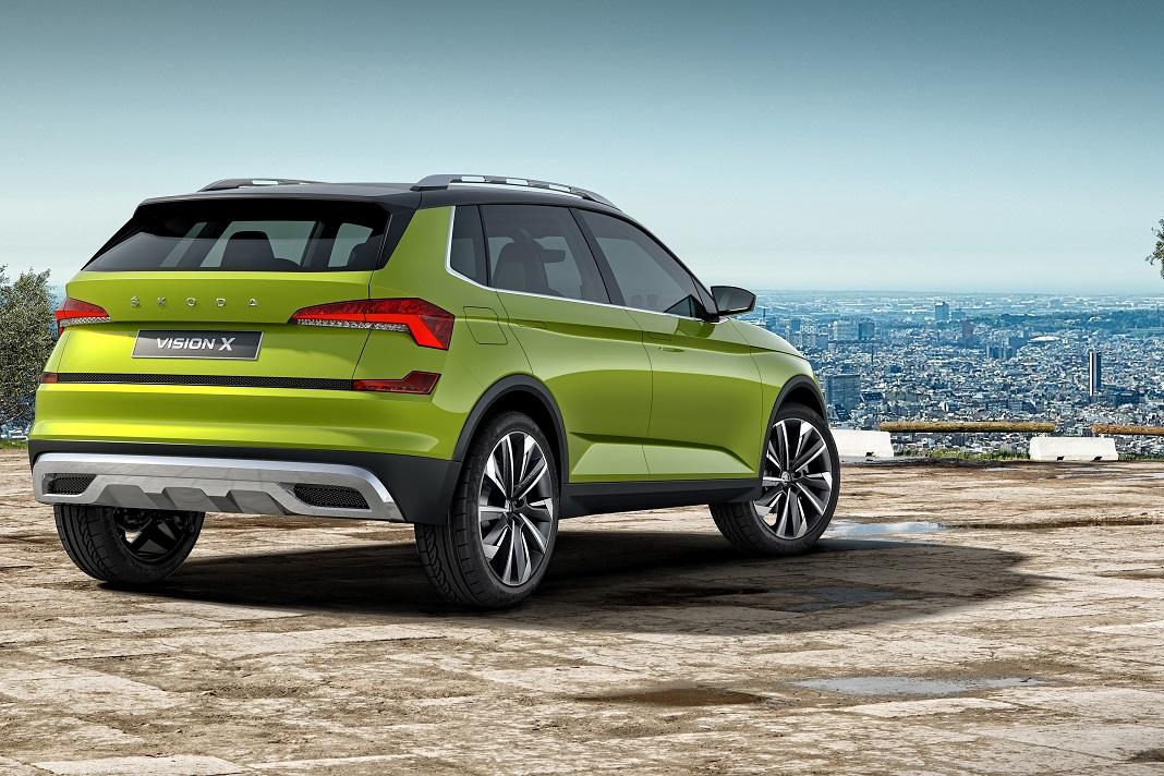 SKODA apresenta o novo concept-car VISION X na Future Port Prague
