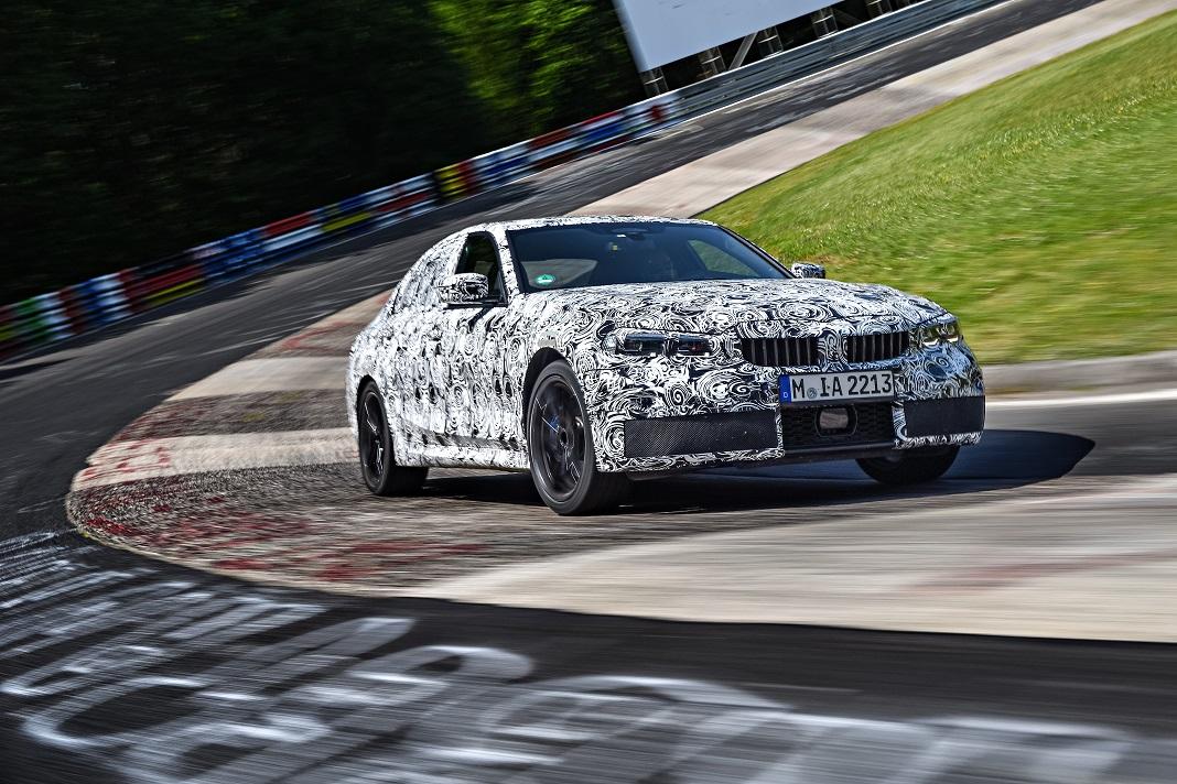 Novo BMW Série 3 Sedan entra na fase final de testes