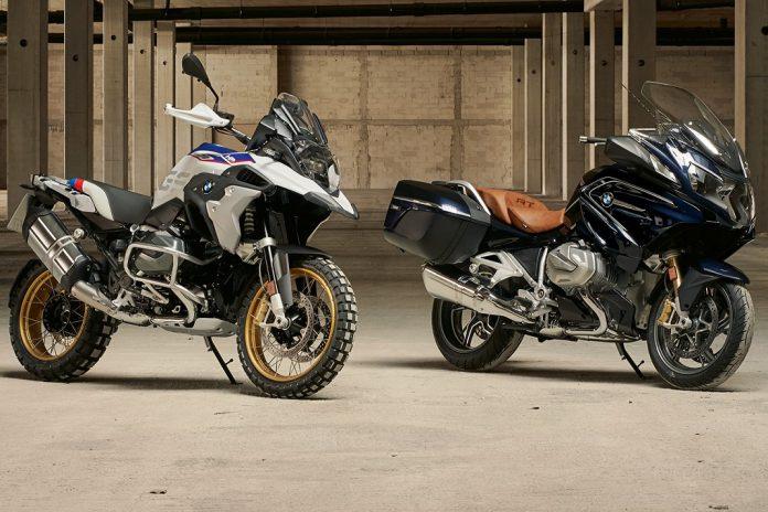 Novas BMW R 1250 GS e R 1250 RT