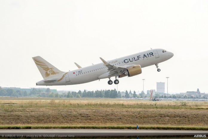 Gulf Air recebe primeiro Airbus A320neo