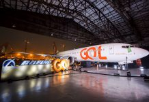 GOL recebe segundo Boeing 737 MAX 8