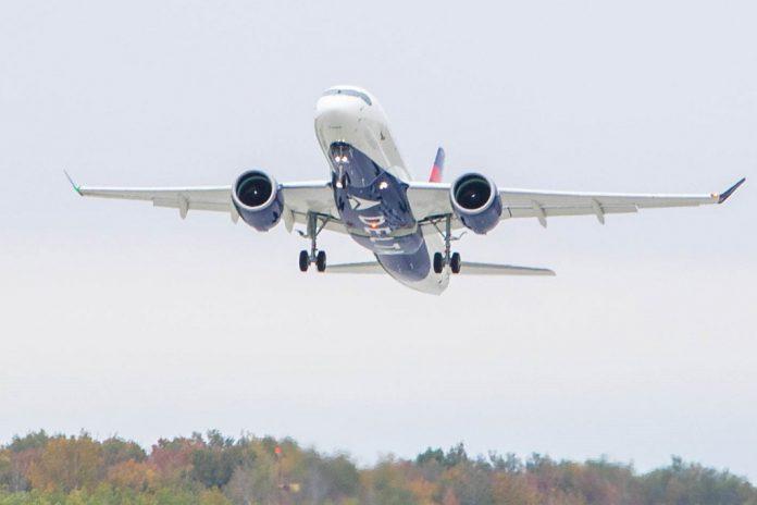 Primeiro A220-100 da Delta Air Lines já levantou voo