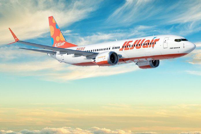 Jeju Air encomenda à Boeing 50 aviões 737 MAX