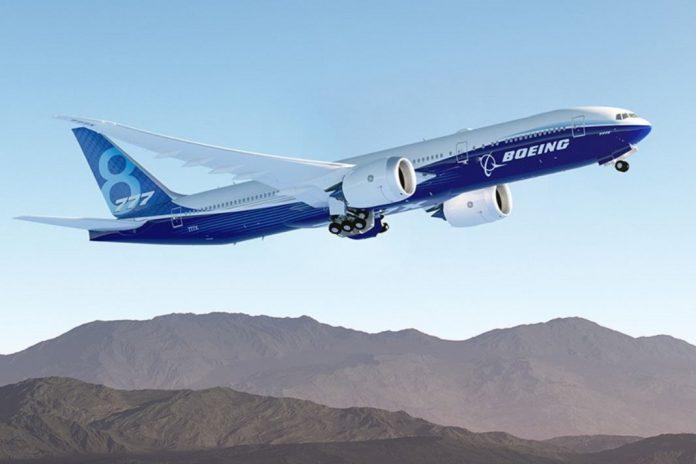 Boeing 777X já assume forma para primeiro voo em 2019