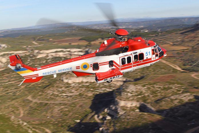 Ucrânia recebe os dois primeiros helicópteros H225 para missões de serviço público