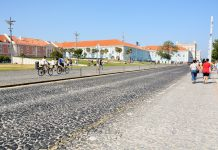 Ribeira das Naus, em agosto, só para peões e ciclistas aos domingos e feriado