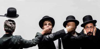 """Teatro Constantino Nery: """"À Espera de Beckett ou Quaquaquaqua"""""""