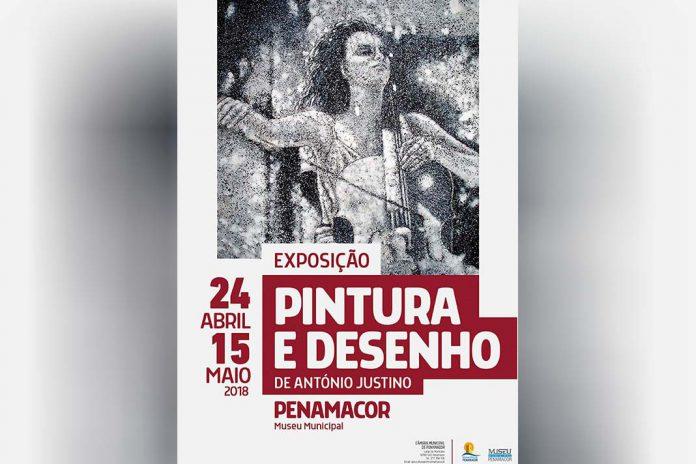 Exposição de pintura e desenho de António Justino em Penamacor