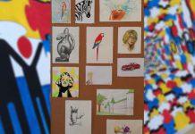 Exposição de pintura e desenho de jovens artistas com autismo.