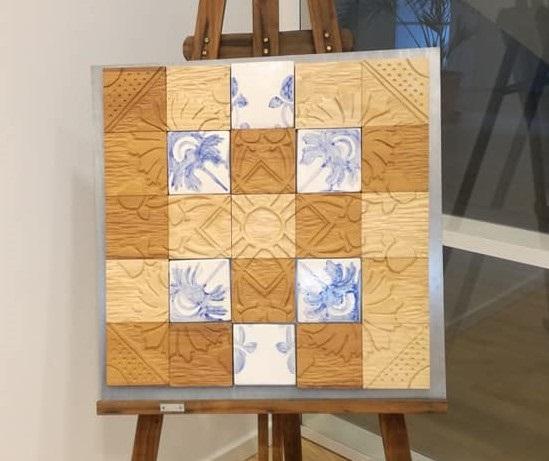 Cláudia Nair Oliveira e Victor Escaleira levam a arte do azulejo português à Dinamarca