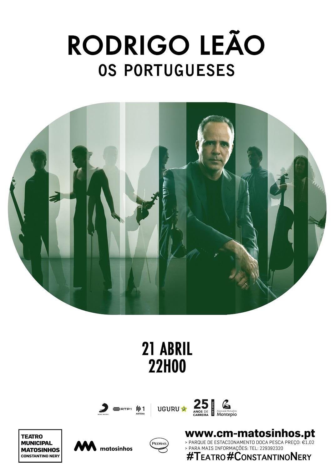 Sábado de música em Matosinhos, Rodrigo Leão