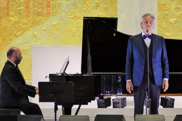 Andrea Bocelli. Foto: Rosa Pinto