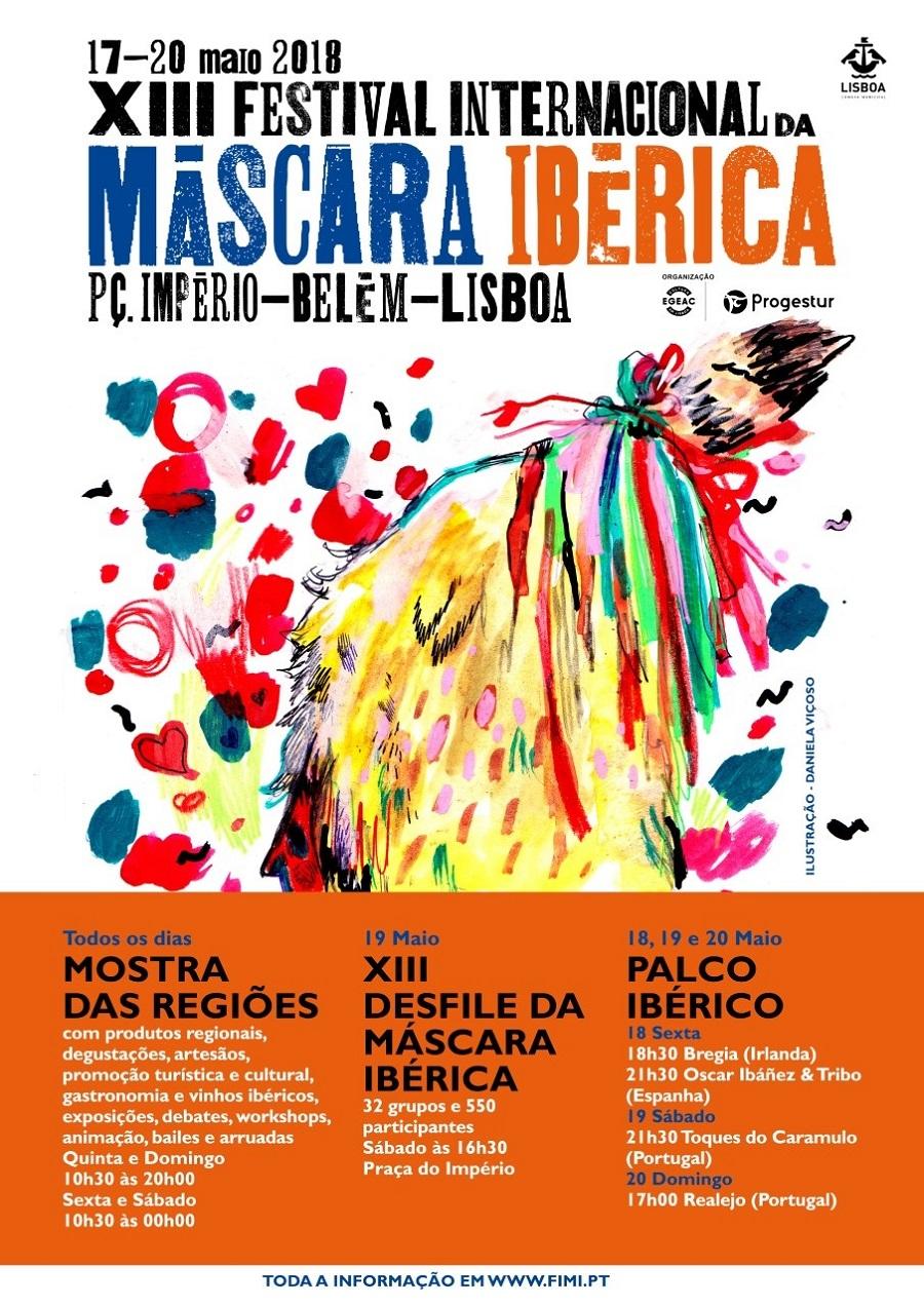 Máscaras Ibéricas mostram-se em Lisboa