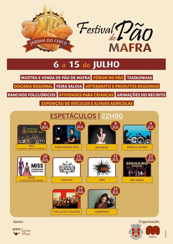 Festival do Pão em Mafra com atividades para todos os gostos