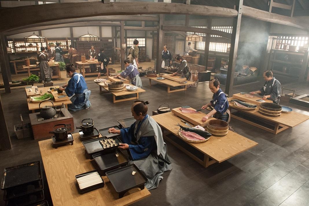 Samurai Cooking ©2013 A Tale of Samurai Cooking Film Partners