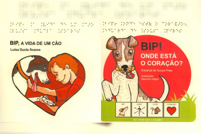 Bip, dois livros multiformato sobre relação com os animais