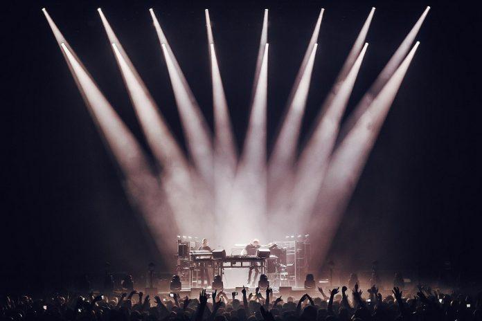 The Chemical Brothers no NOS Alive 2019, dia 13 de julho, no Palco NOS