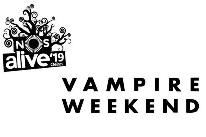 Vampire Weekend no NOS Alive 2019 a 12 de julho