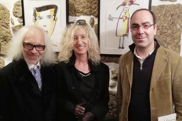 Exposição de Orlando Pompeu no Hotel Mestre de Avis em Guimarães