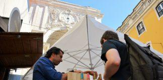 Feira do Vinho da Região de Lisboa na Rua Augusta