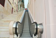 Escadas rolantes facilitam acesso do Martim Moniz ao Castelo de São Jorge