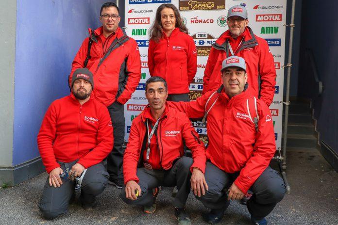Equipa Bio-Ritmo no Africa Eco Race 2018