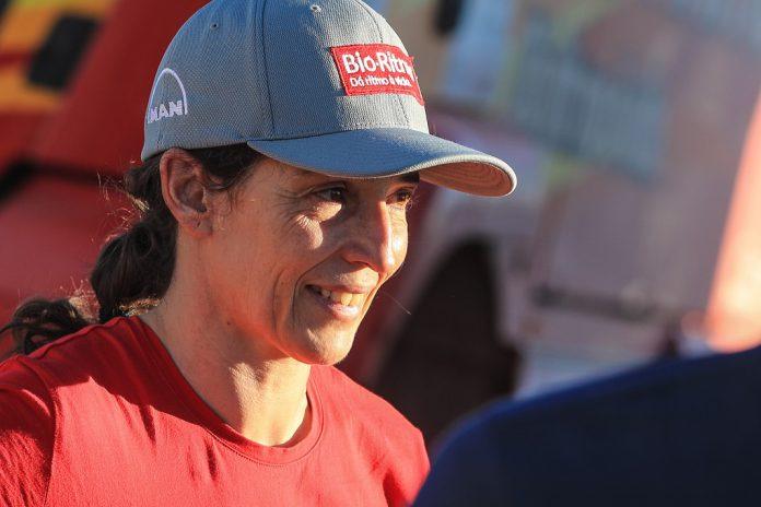 Elisabete Jacinto piloto da camião no Africa Eco Race