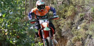 Mário Patrão na Baja TT do Pinhal