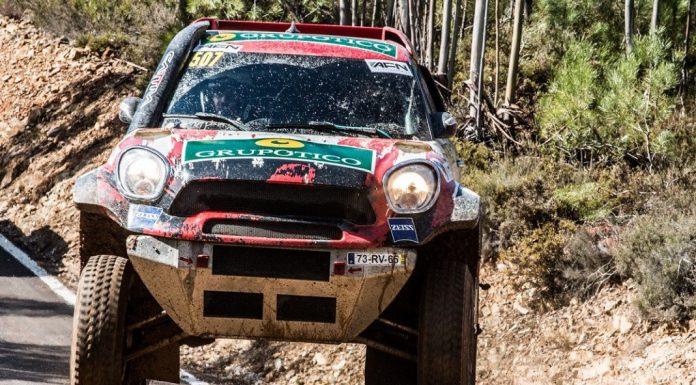 Helder Oliveira em terceiro na Baja TT do Pinhal