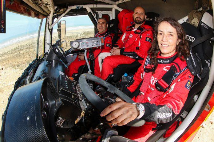 Elisabete Jacinto em quarto entre os camiões na segunda do Morocco Desert Challenge