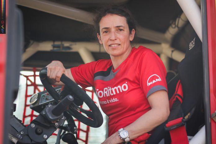 Elisabete Jacinto foi hoje sétima entre camiões no Morocco Desert Challenge