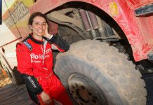 Elisabete Jacinto mantém sétima posição na geral entre camiões