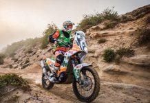 Mário Patrão muito perto da vitória no Morocco Desert Challenge