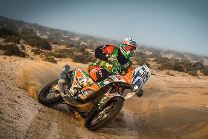 Vitória de Mário Patrão no Mário Patrão vence Morocco Desert Challenge