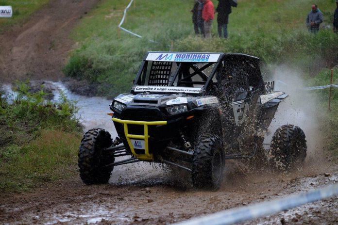 Marco Moninhas , vence primeiro lugar da terceira prova do Polaris RZR sem Turbo