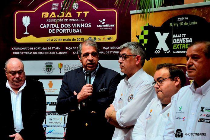 Baja TT Capital dos Vinhos de Portugal em Reguengos de Monsaraz