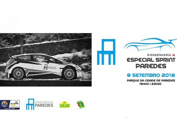 Especial Sprint Paredes junta 4 campeões nacionais de ralis dia 8 de setembro