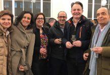 Equipa da Universidade Nova de Lisboa envolvida no Centro Discoveries: Ana Sofia Coroadinha (ITQB NOVA), Paula Alves (ITQB NOVA), Catarina Brito (ITQB NOVA), António Jacinto (CEDOC) e Miguel Seabra (CEDOC)