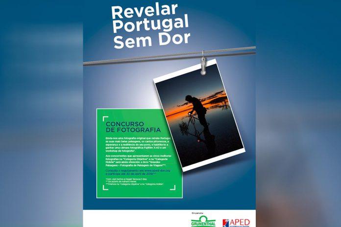 Concurso de fotografia para 'Revelar Portugal Sem Dor'