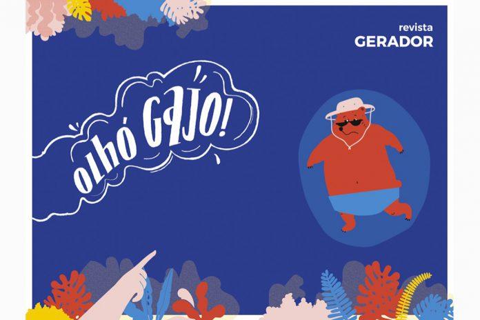 Revista Gerador desenhada por estudantes da ESAD.CR do IPLeiria