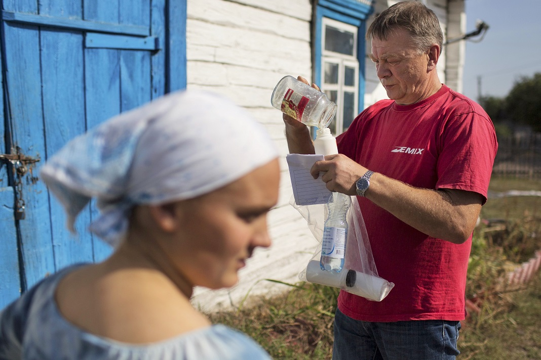 Aldeias ucranianas continuam a sofrer dos efeitos de Chernobyl