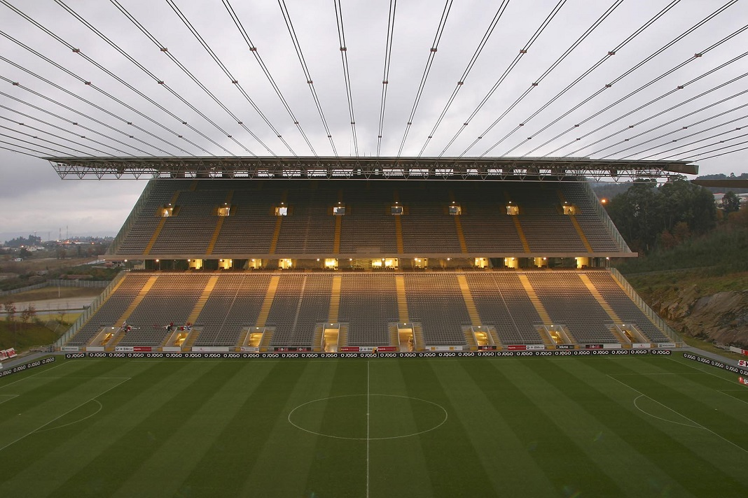 Estádio Municipal de Braga, Obra do Grupo Casais