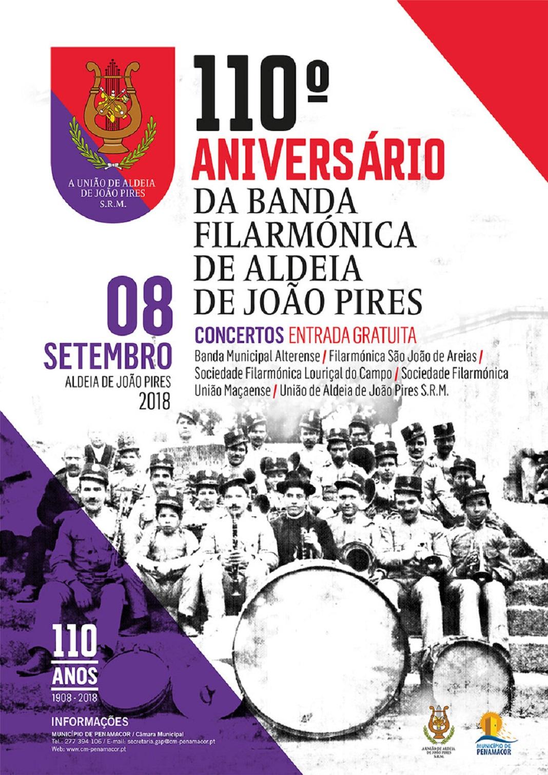 Filarmónica de Aldeia de João Pires reúne em concerto 250 músicos