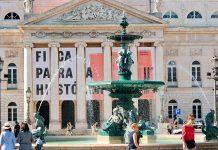 Teatro Nacional D. Maria II, em Lisboa