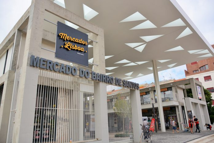 Mercado do Bairro de Santos, em Lisboa, reabriu totalmente requalificado