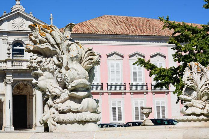 Palácio das Necessidades - Ministério dos Negócios Estrangeiros.